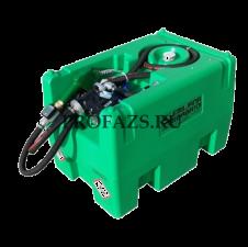 Carrytank 220 бензин, электронасос 12В, 4 м шланг, пистолет-автомат, фильтр FLT60MB