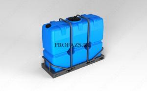 Емкость SK 2000 литров в обрешетке