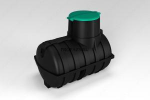 Емкость подземная U 3000 литров oil