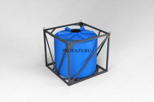 Емкость ЭВЛ 4500 литров в обрешетке
