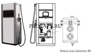 ТРК Ливенка с фильтром-водоотделителем ФВ