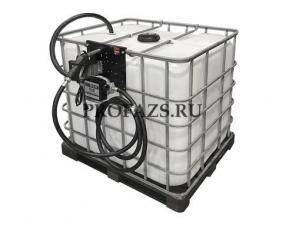 Мобильный топливный модуль дизельного топлива