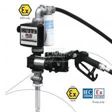 DRUM EX50 K33 12V DC ATEX /AUTO/F/4M - Перекачивающая станция для бензина