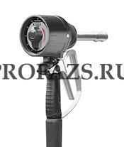 MC30 - Мех. пистолет c ротационным расходомером (литры), гибкий наконечник, автомат. каплеот., масло