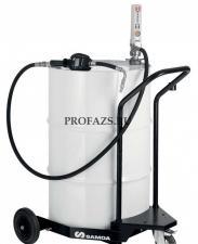 Мобильный маслораздатчик для бочек 205 л с насосом PM2