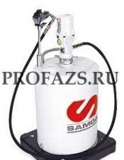 Мобильный пневматический солидолонагнетатель с насосом PM3 с подставкой для бочек макс. 50 кг