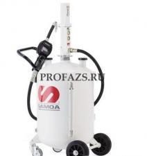 Пневматический маслораздатчик с расходомером, 70 л