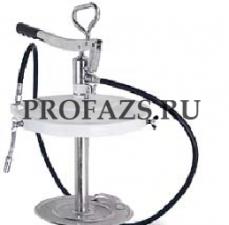 Высоконапорный насос для консистентной смазки для бочек 12,5 - 18 кг В комплекте – крышка для бочки