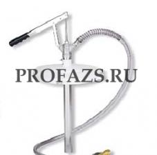 Заливочный насос для централизованных установок для раздачи консистентной смазки для бочек 12, 18 кг