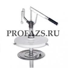 Заливочный насос для шприцов для консистентной смазки для бочек 12, 18 кг. В комплекте с крышкой дл
