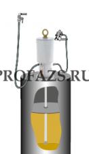 Комплект для откачки масла с насосом PM6, 10:1 на бочку