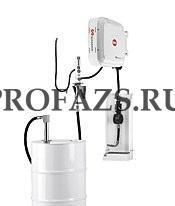 Настенный комплект для раздачи масла с насосом PM 2, катушкой, счетчиком и каплеул. для бочек 205 л