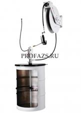 Комплект д/раздачи консист смазки с насосом PM 3+3 и катушкой для бочек 185 кг