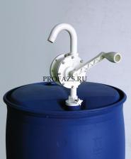 Ручной роторный насос для бочки Производительность: 25л/мин